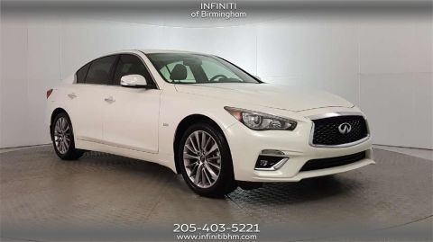 Certified Pre-Owned 2018 INFINITI Q50 2.0t LUXE