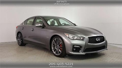 Pre-Owned 2017 INFINITI Q50 Red Sport 400